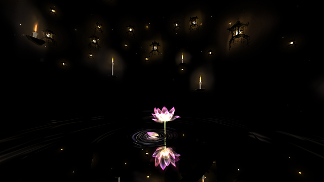 【VR瞑想空間】Meditation Space in VR